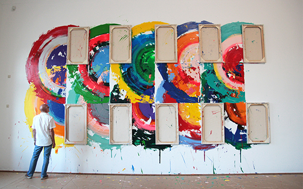 richard jackson wall paintings